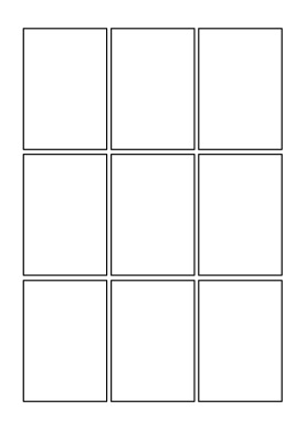 Blank comics pages comics club comics club page templates 2 3x3 grid maxwellsz