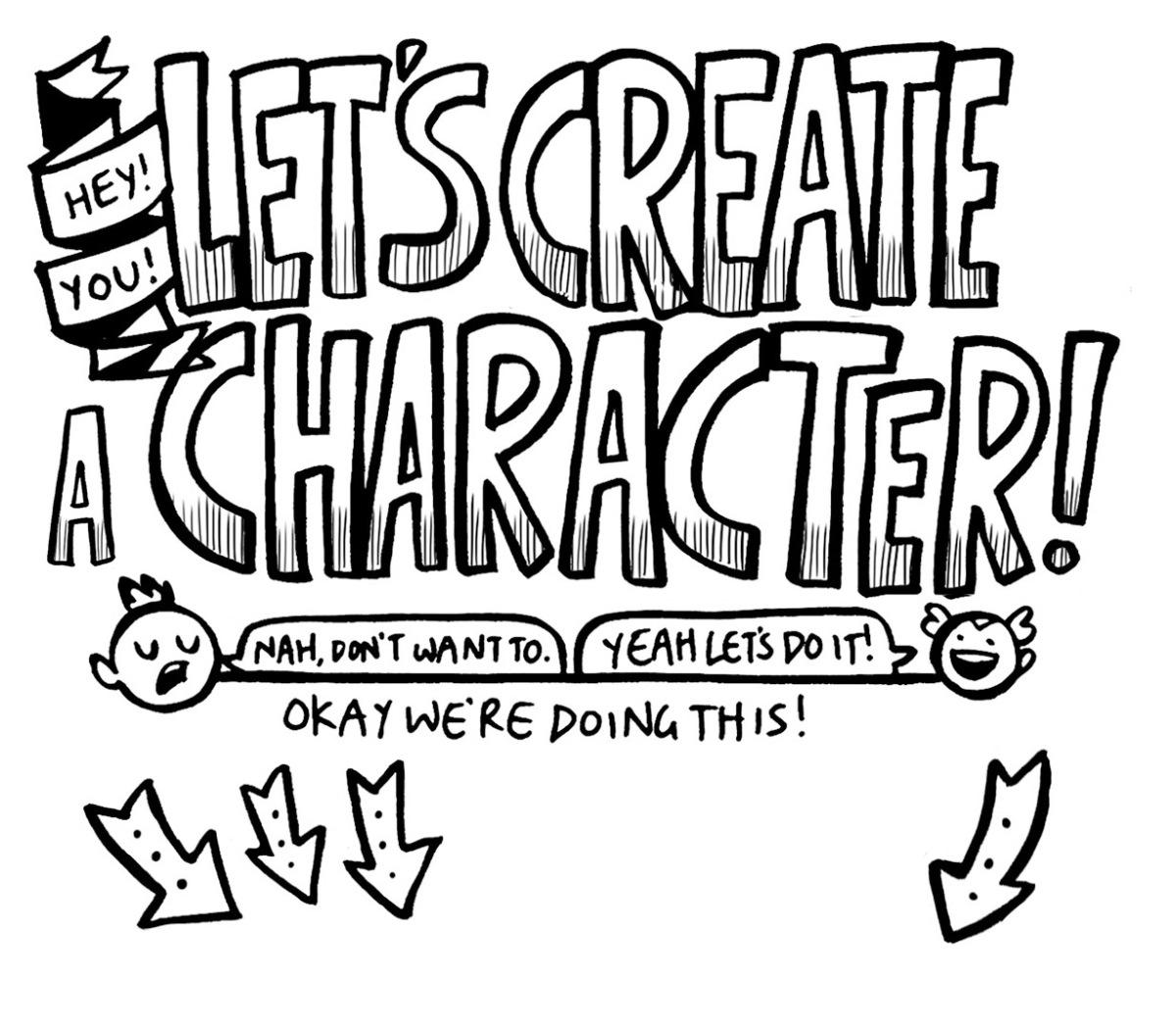 February Comics Challenge: Create a Character with JamieSmart!