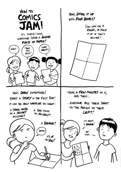 Comics Challenge - COMICS JAM 1