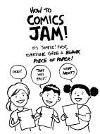 Comics Jam STEP 1