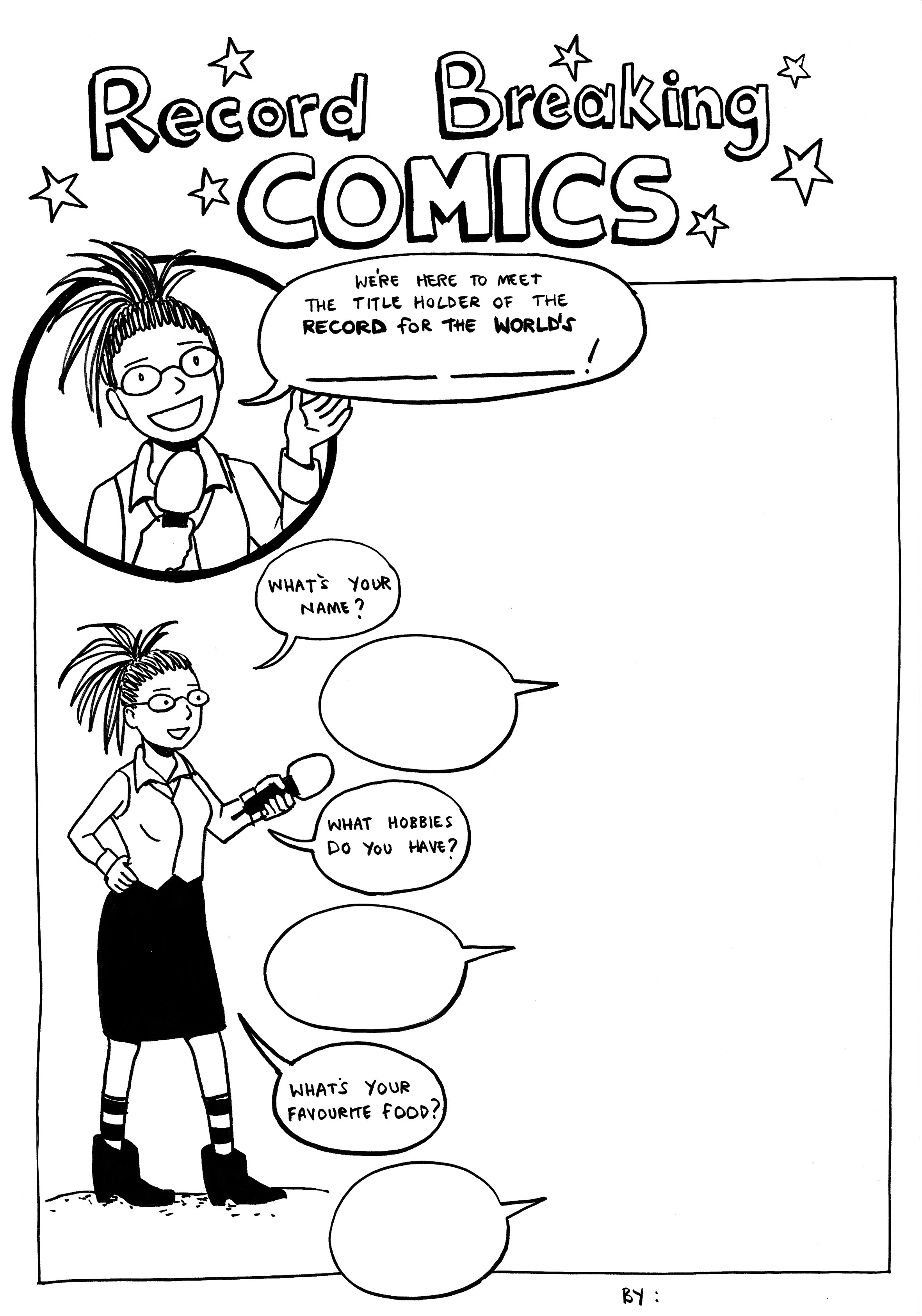 Karen Comics Challenge 2 - Interview
