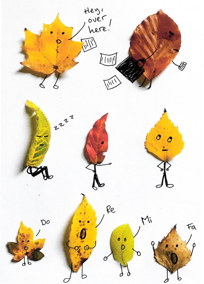 Leafy Characters