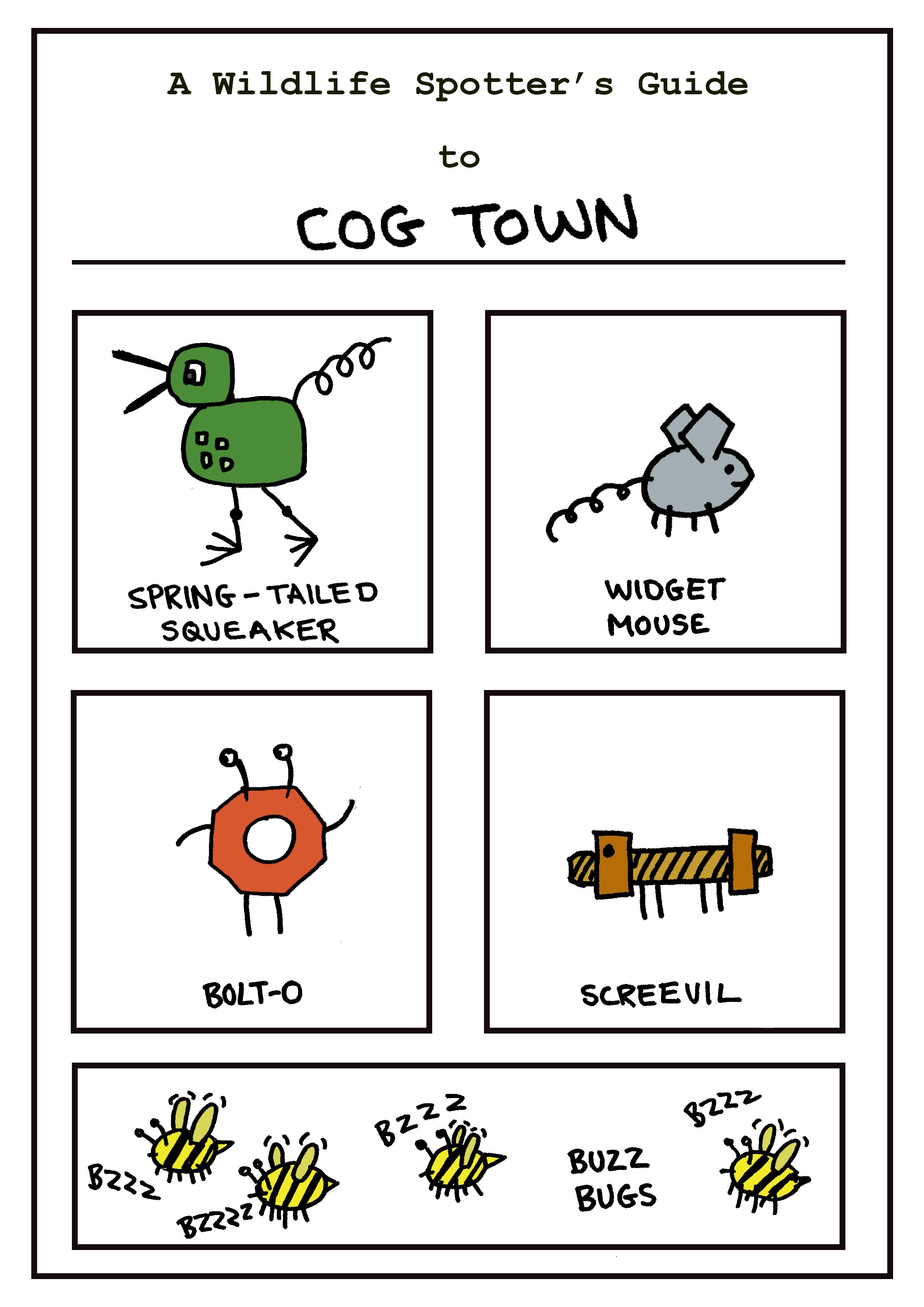 Cartoon Creatures Cog Town